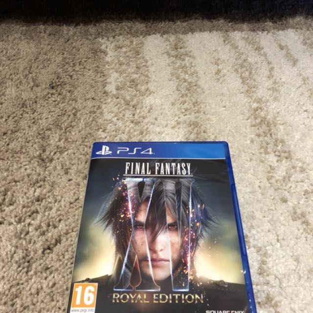 Final fantasy XV Royal Edition reg 2