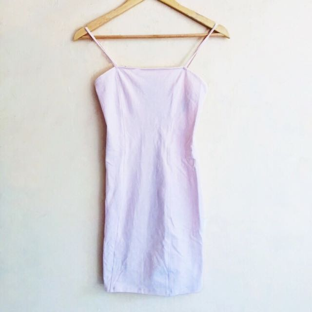 Forever 21 Pink Blush Bodycon Dress