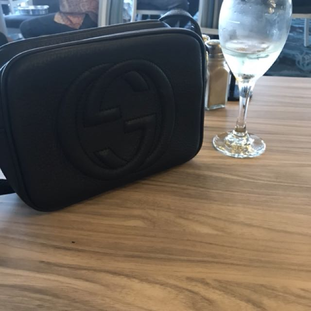 Genuine Gucci soho bag