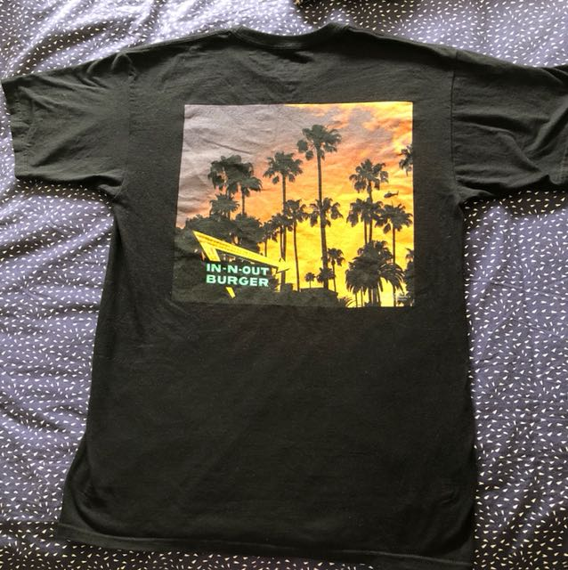 Genuine In n Out Burger T-shirt, Size M