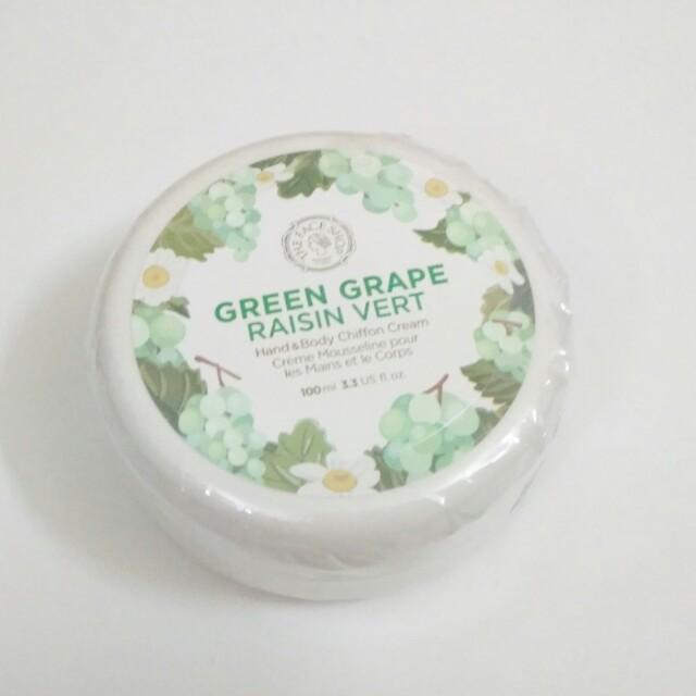 Green Grape Hand and Body Chiffon Cream