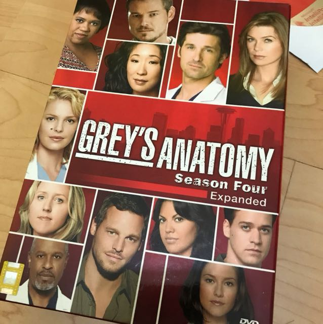 Grey\'s anatomy season 4 collectible box set, Music & Media, CDs ...
