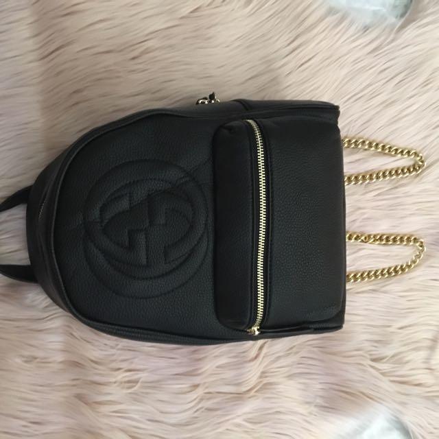 GUCCI chain backpack