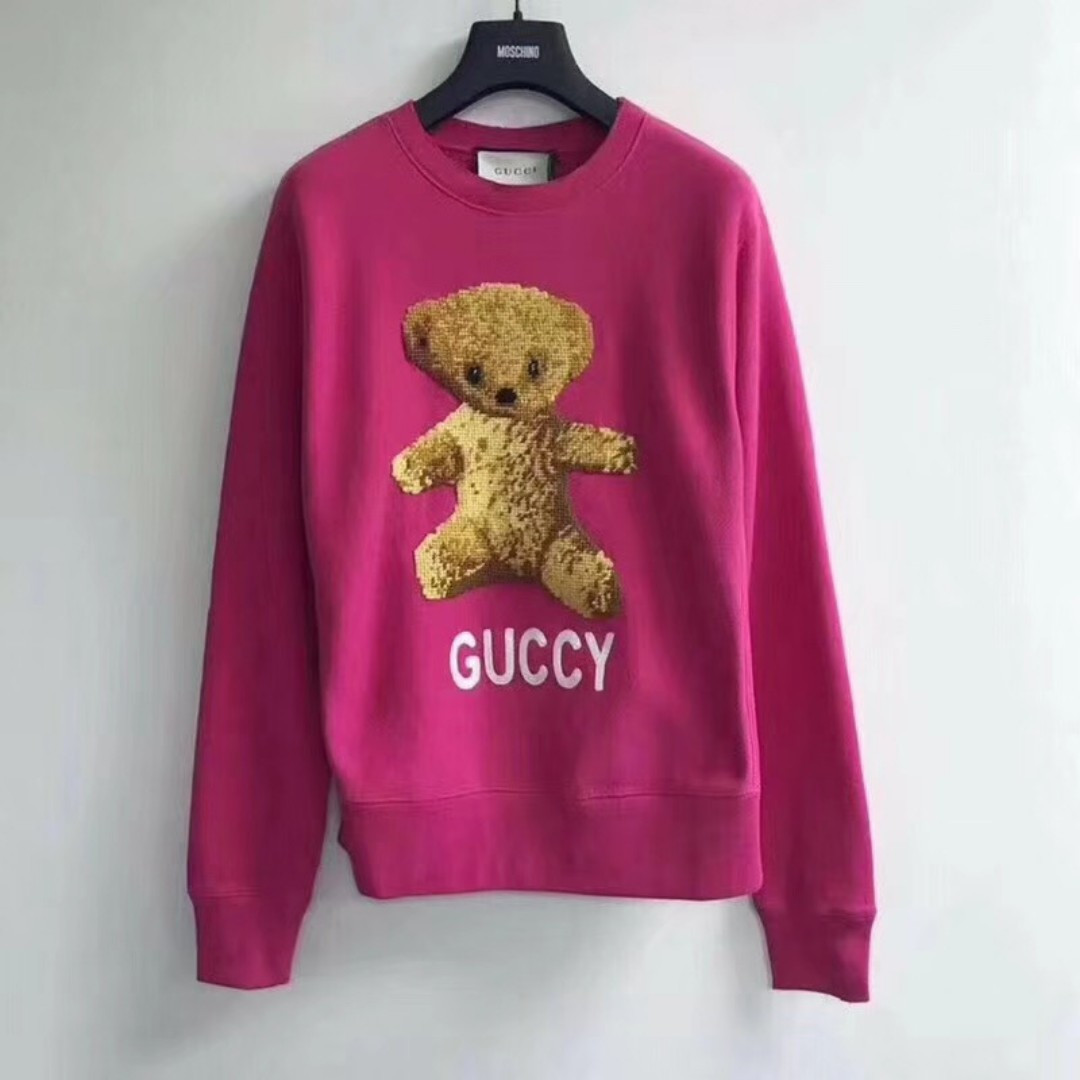 e8624989865 Gucci Teddy Bear Sweatshirt