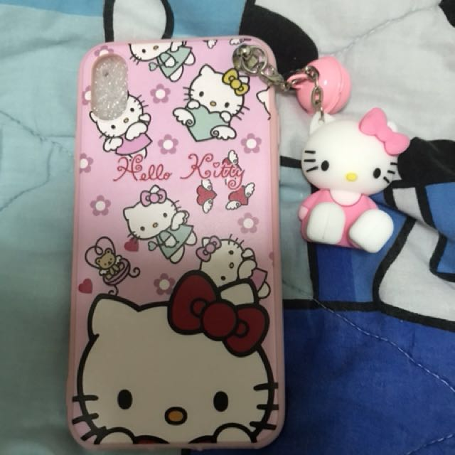 Hello Kitty Phone Case iPhone X