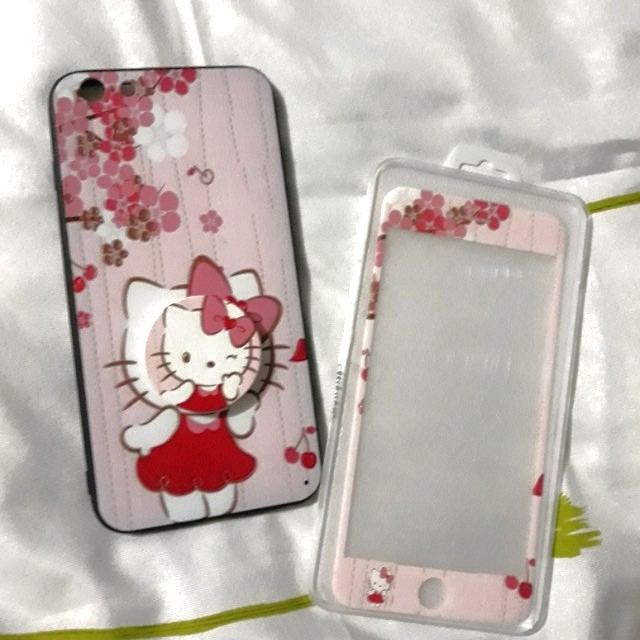 HELLO KITTY TEMPERED & CASING 6 Plus/ 6s Plus