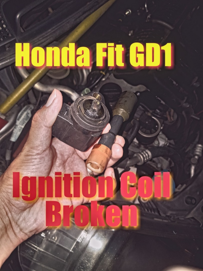 Honda fit GD1 Ignition coil replacement due to misfire