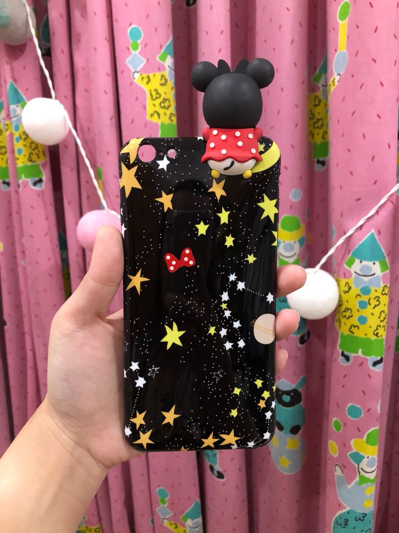 Iphone 6+ mickey case NEW