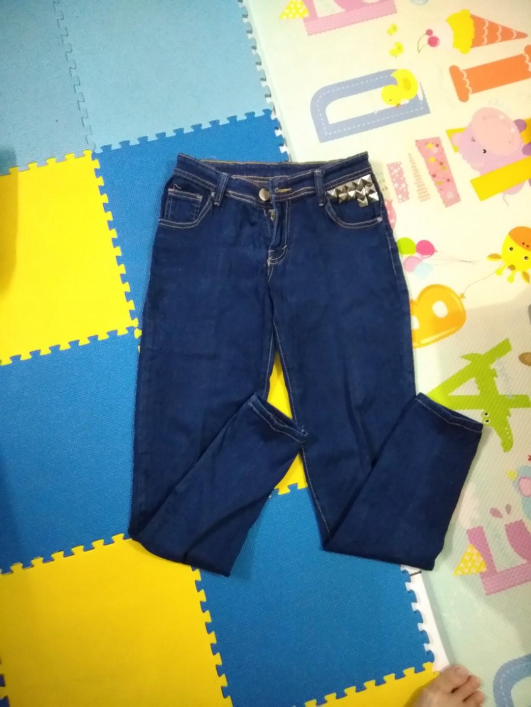 Jeans Studded DIY