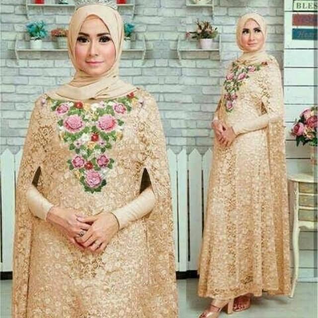 Kaftan syahrini fashion muslim wanita 8warna