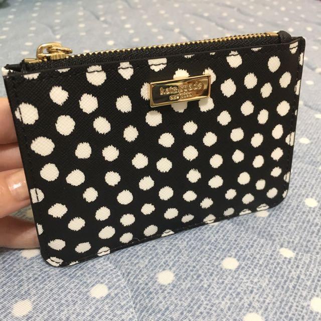 Kate spade 卡夾 零錢包