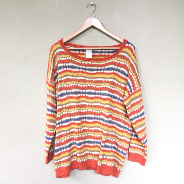 Korean miss a knitted sweater