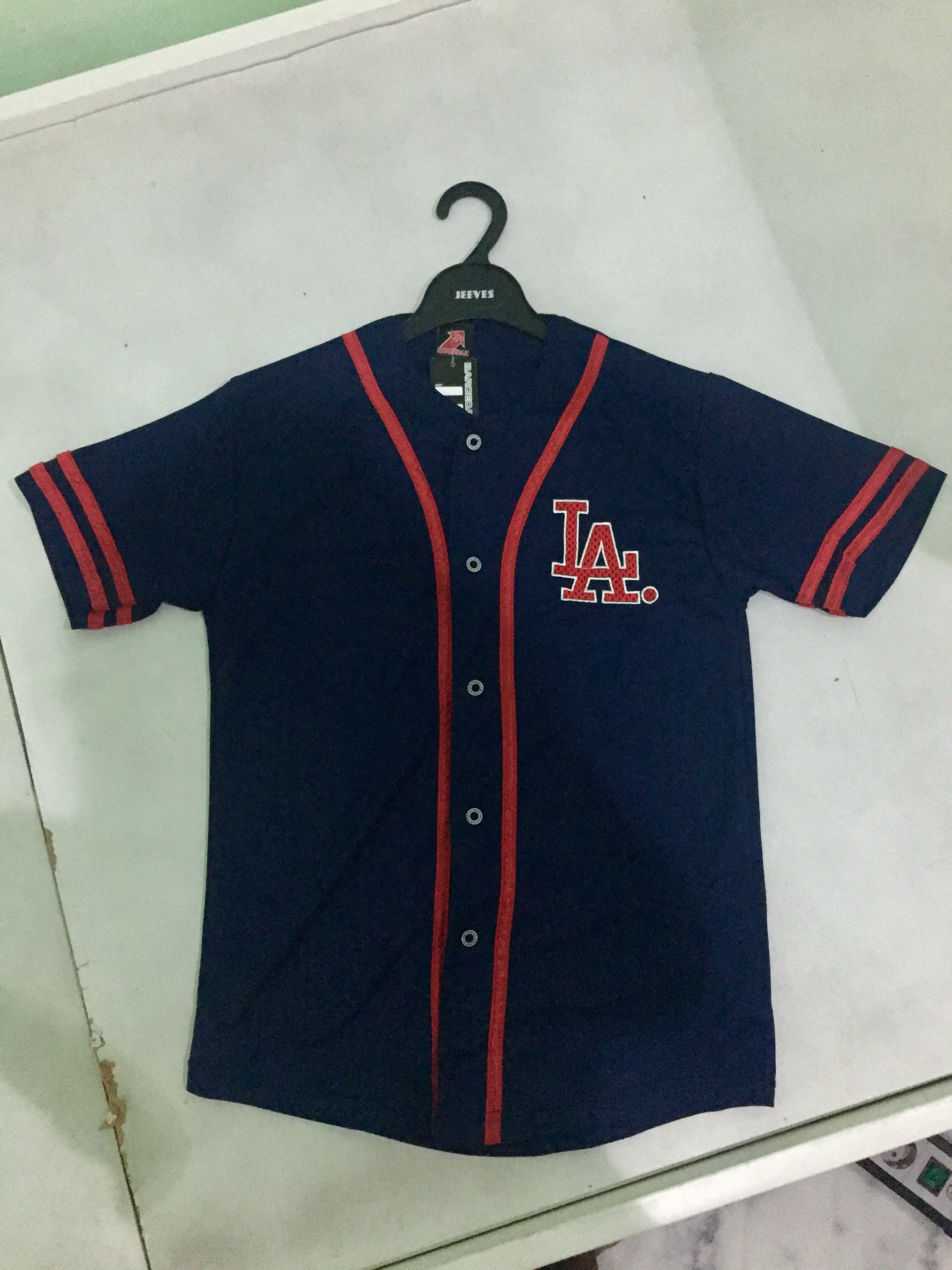 LA Navy/Red Softball Baseball Jersey