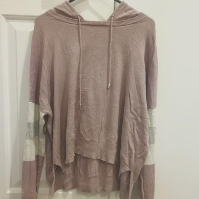 pale purple sportsgirl hoodie