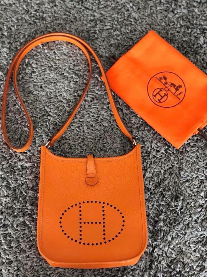 shopping hermes evelyne purple tpm mini a23a9 c75c6  authentic like new hermes  evelyne miniu203c luxury bags wallets on carousell 6fd1e 3433d 85932ba289f16