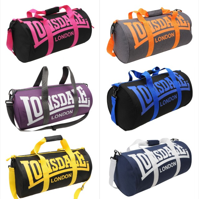 Lonsdale Barrel Duffel Bag 03a333b587b0f