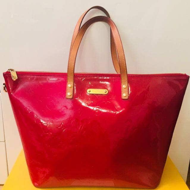 Louis Vuitton Bellevue GM red