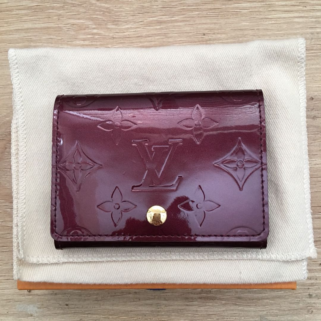 Louis Vuitton Monogram Vernis Card Holder
