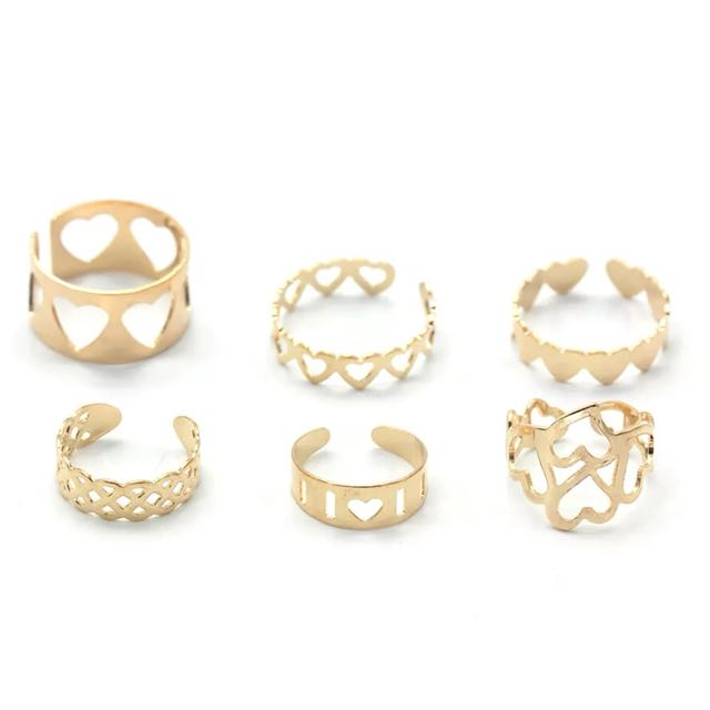 Love ring 6pcs Set