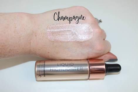 Make Up Revolution Liquid Highlighter - Champagne