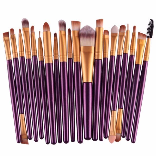 Makeup Brushes (20 pcs set)
