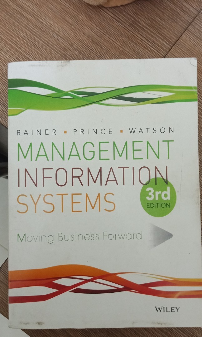 MANAGEMENT INFORMATION SYSTEM 3rd edition