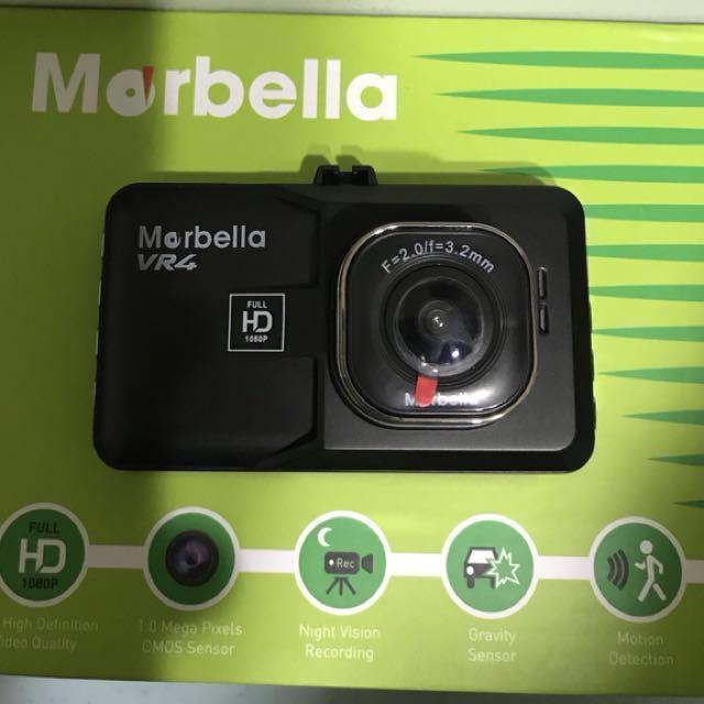 Marbella Vr4 Full Hd Car Dash Cam Recorder Car Accessories On Carousell