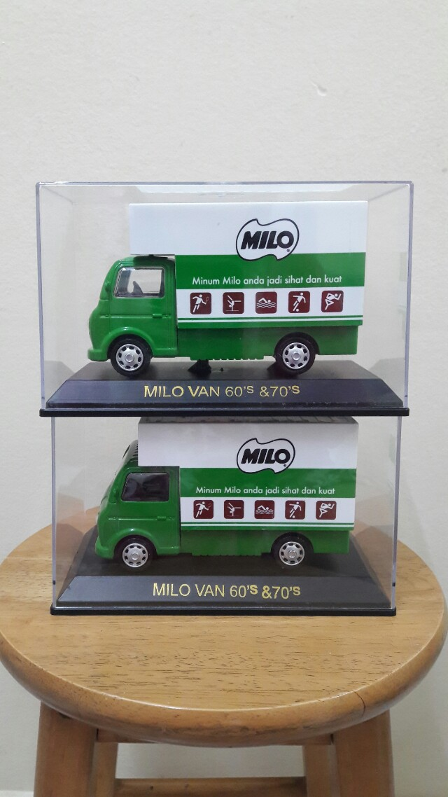 Milo Van 60's & 70's limited edition ( saiz besar)