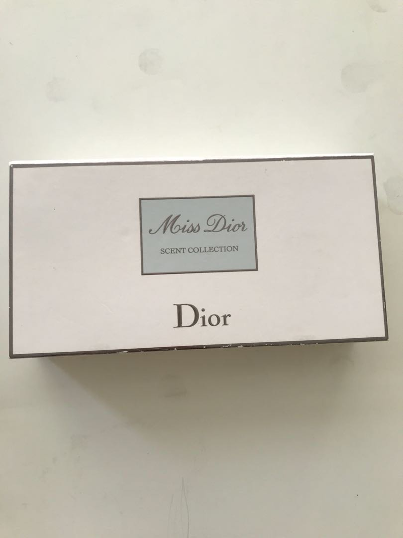 Miss Dior Scent Collection x4pcs (5ml)
