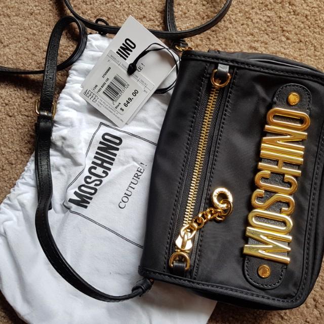 Moschino Clutch/Shoulder Bag