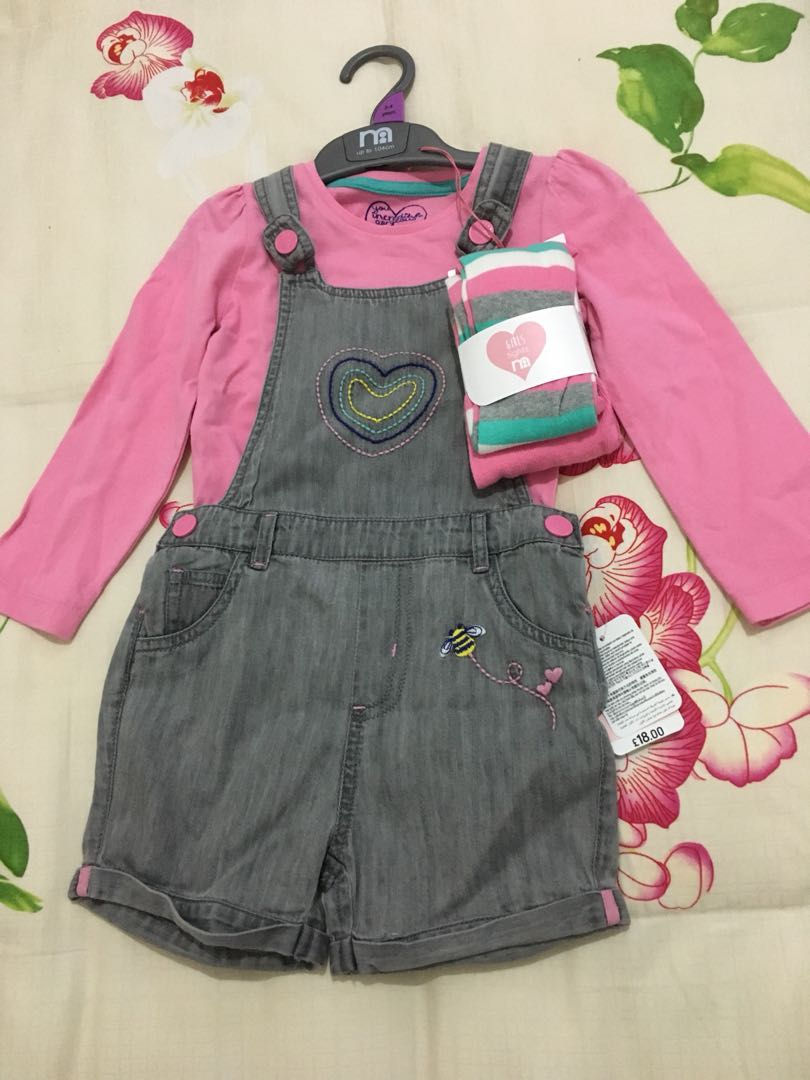 Mothercare overall jeans