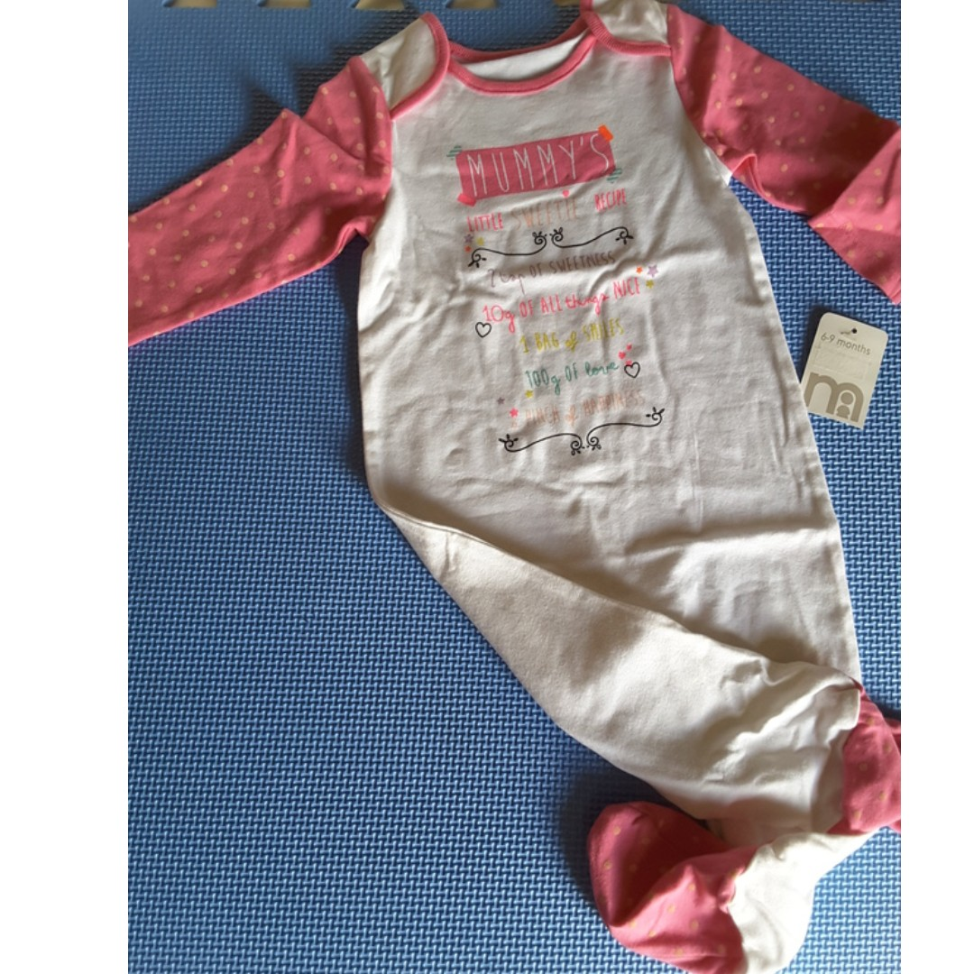 Mothercare Sleepsuit BNEW w/ Tag