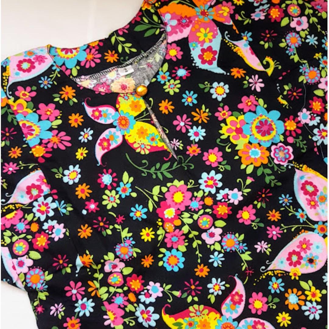 [NEW] [SALE] #bajet20 Baju Kurung Cotton Size 2