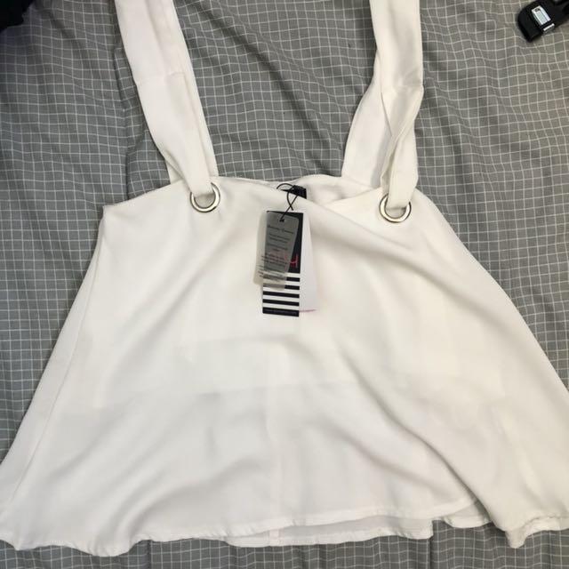New white dressy top