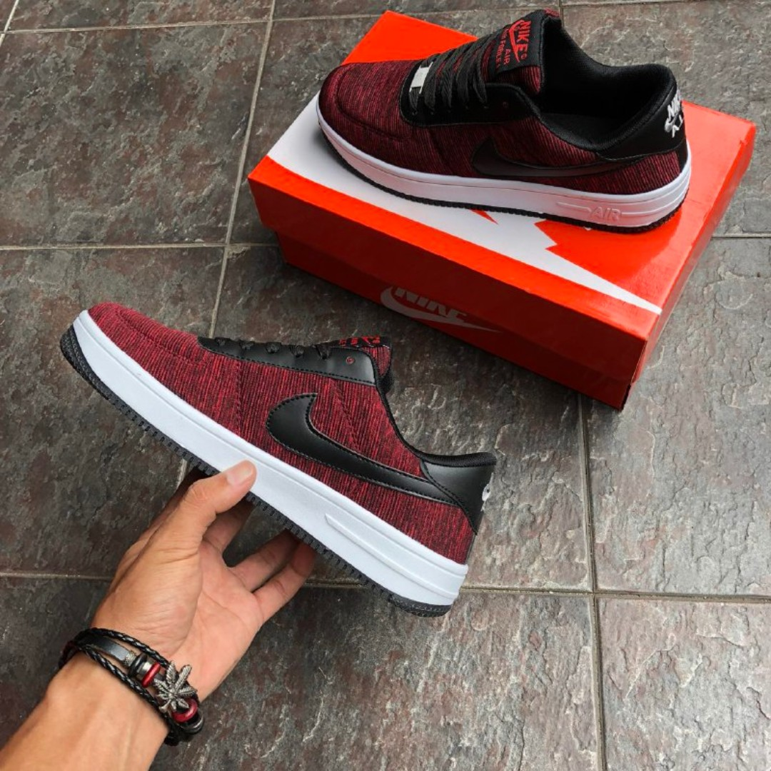 more photos 3a195 17467 NIKE Airforce 1 Low Shadow Red Black