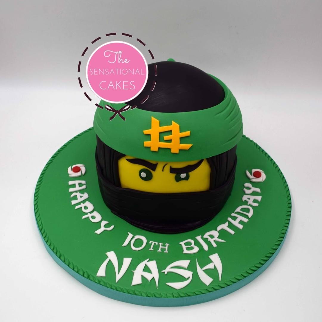 Ninja 3D Birthday Cake Theme for Nash Singapore #SingaporeCake, Food ...