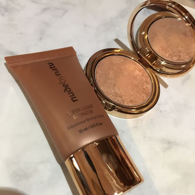 NUDE BY NATURE BRONZER SET