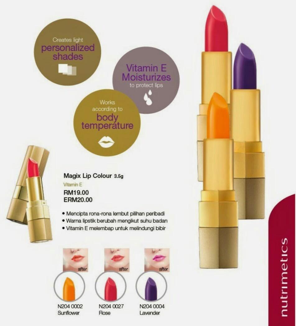 Nutrimetics Magic Lip Colour