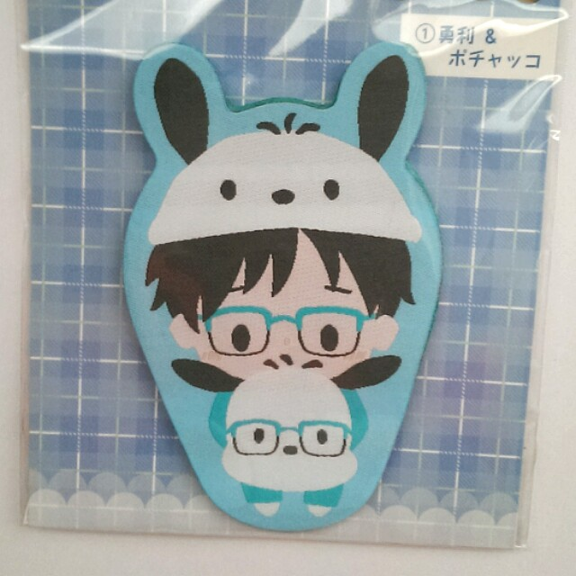 [OFFICIAL] Yuri on Ice x Sanrio - Wappurike Felt Badge - Yuri Katsuki