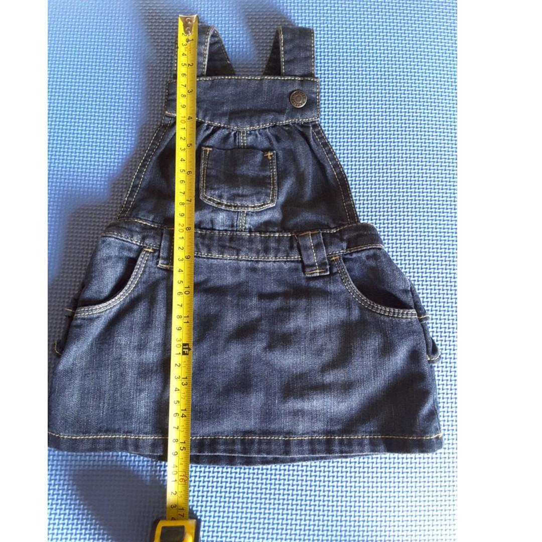 Old Navy Ruffle-Bottom Denim Skirtalls