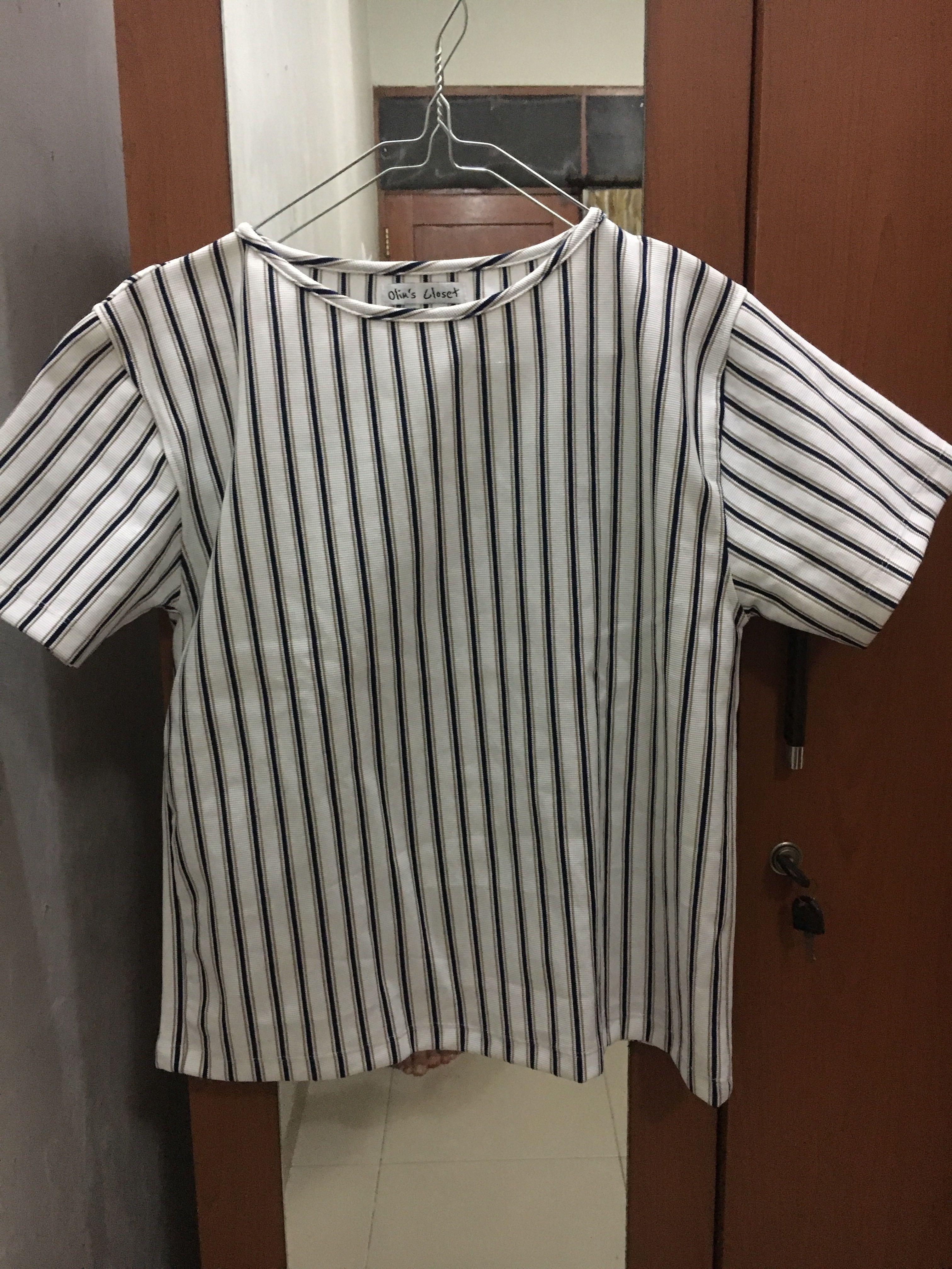 Olin's Closet Striped Top