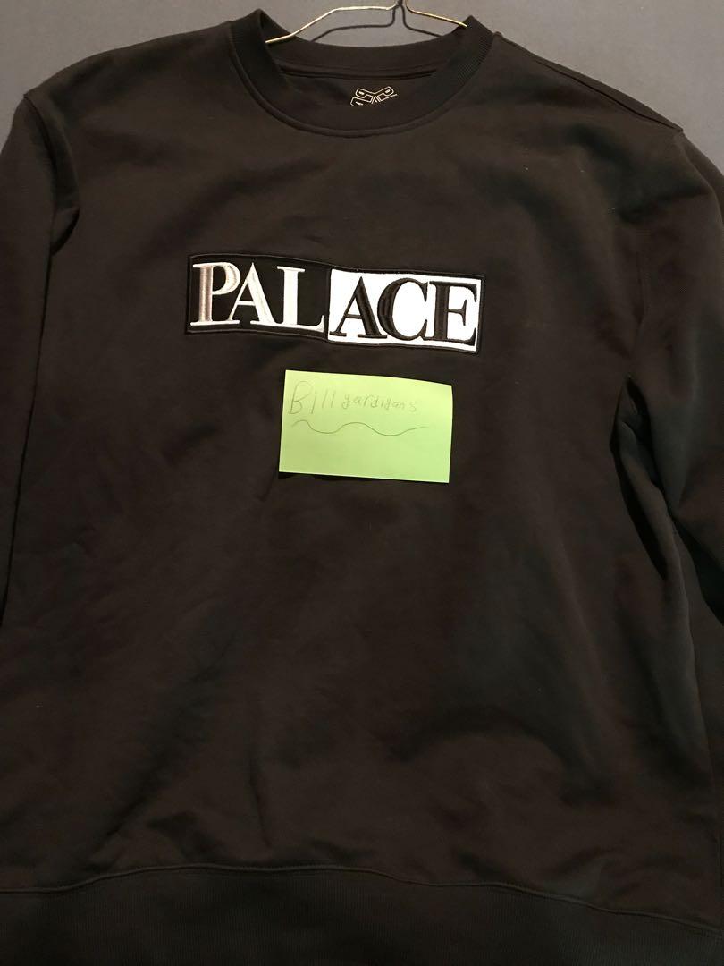 palaceskateboards palace domino crewneck crew