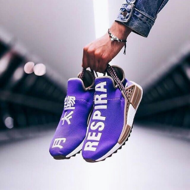 "Pharrell Williams x Adidas NMD Human Race ""Friends And Family"""