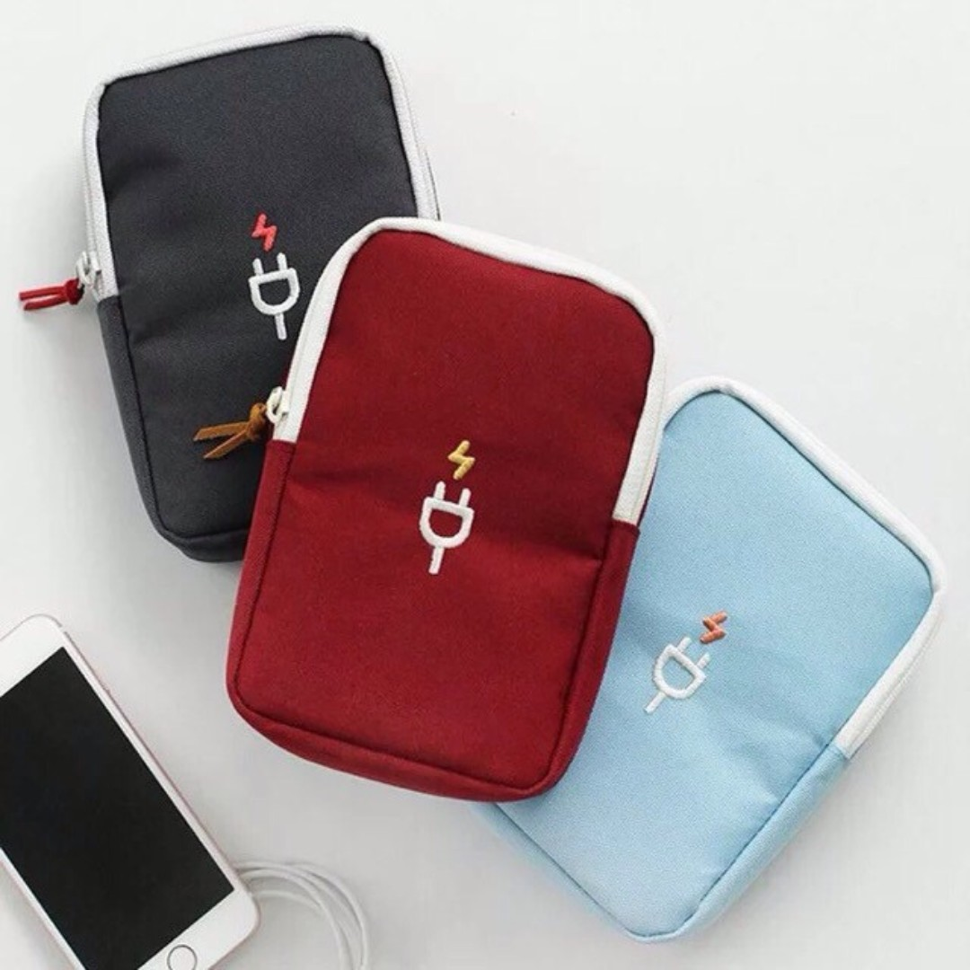 Portable Innovative Travel Gadget Organizer Pouch Looking For On Carousell