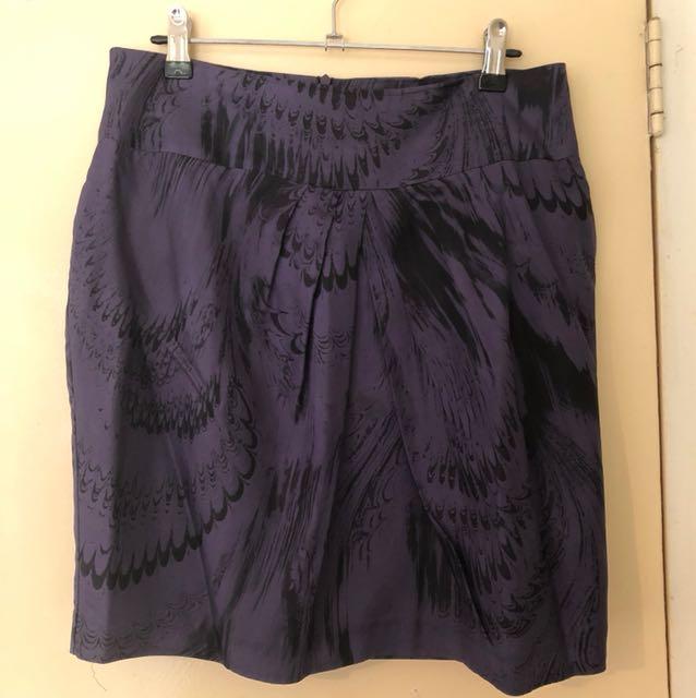 Review Silk Skirt