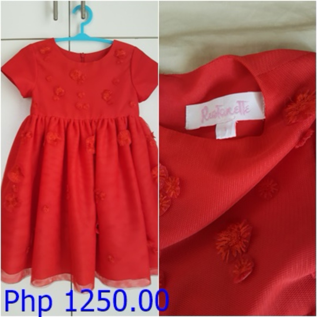 Rustanette Red Dress