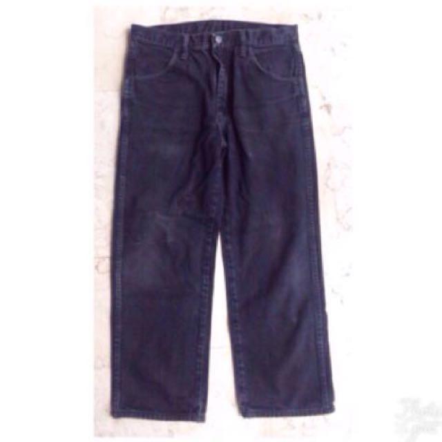 Rustler Black Jeans Pants for Men
