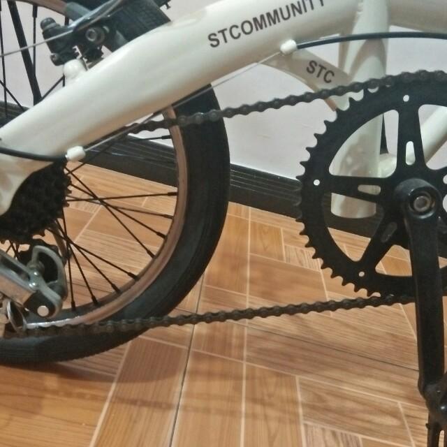 Sepeda lipat modifikasi