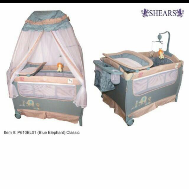 Shears Crib/Playpen