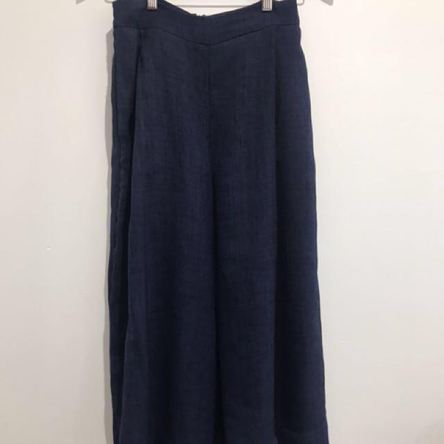 Sheike Navy culottes size 8